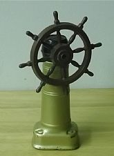 Vintage 1970's Ships Wheel Decanter