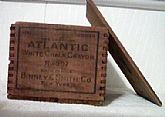 Vintage/Atlantic White Chalk Crayon Box #307