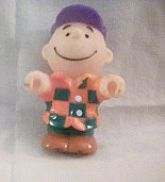 Charlie Brown Rubber Mini Figurine