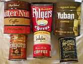 15 Vintage/Collectible Coffee Cans