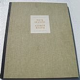 "Collection of ""Andrew Wyeth"" Prints in Hard Cover Portfolio"