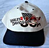 Very nice Harley Davidson USA baseball cap hat, HD Glendale AZ, very little wear, adjustable strap. Cool hat. Mid 90