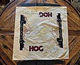 This Annual Portland Oregon HOG rally scarf has never been worn, It has no stains, rips, or tears. It comes from a smoke free and pet free home. Measures 21X20 inches.