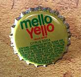 Vintage new old stock plastic lined Mello Yello soda caps! These are from around 1980 and were found at a Coca-Cola plant in Thomasville, NC. Excellent unused condition! Did you know that Mello Yello was introduced in 1979 by Coke to compete with Mountain