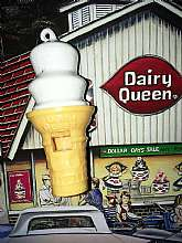 Adorable Dairy Queen Ice Cream Cone Vintage Toy Whistle!