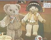 Vogue Craft 9603, Mr and Mrs Bear, 20 inches, DIY bear friends,Sewing Pattern, Average Sewer, Just Because Bears Gift , Birthday Gifts, Factory Folded uncut,Envelope has some shelf wear.
