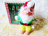 Christmas Elf Plush Doll Toy Vintage New Santa's Elf Stuffed Animal Colorful Toy Soft White Beard Christmas Holiday Home Decor