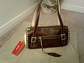 Brown and Beige Chic Handbag