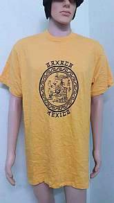 -- pre-owned vintage MEXICO t shirt-- tag YAZBEK-- condition 9/10-- measurement taking while laying flat     1. Shirt length = 25 inch      2. Chest width = 16 in
