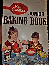Betty Crocker Vintage Junior Baking Book 1963