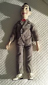 "12"" Pee Wee Herman Doll with movable arms and legs"