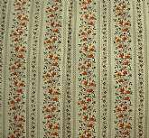Beautiful vintage tiny floral cotton heirloom dress or quilt fabric in yellow, tan and orange.  It is 45 inches wide by 5 yards 8 inches long.