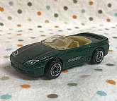 Title  Vintage Matchbox Green Mitsubishi 3000GT Spyder - 1997      Materials:   Metal, Plastic, Paint      Dimensions:   3 1/4 inches x 1 inch x 1 inch       Type:   Matchbox Cars       Brand:   Matchbox