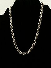 Vintage Monet Rope Link Chain