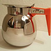 Vintage Steel Tea Coffee Pot 1950