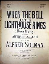 This piece of vintage sheet music was published in 1920 by the Edward B. Marks Music Company.  It was arranged for the piano Alfred Solman, and the lyrics written by Arthur J. Lamb.  This music will be a great acquisition for anyone that enjoys playing, s