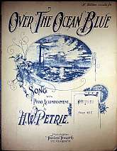 This piece of antiquarian sheet music was published in 1901 by the Theodore Presser Company.  It was arranged for the piano by Henry W. Petrie, and the lyrics written by Arthur J. Lamb.  This music will be a great acquisition for anyone that enjoys playin