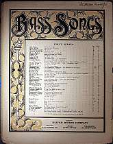 This piece of sheet music was published in 1894 by the Oliver Ditson Company of Boston, MA, New York, NY, Chicago, IL, and Philadelphia, PA.  It was arranged for the piano by John L. Hatton, and the lyrics written by W.H. Bellamy  This music will be a gre