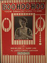 This piece of sheet music was published in 1922 by the Broadway Music Corporation of New York City.  It was arrangement was a collaboration of Harry Link, Irving Aaronson, and Al Lentz,  and the lyrics written by Bob Nelson.  This music will be a great ac