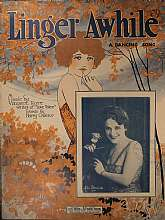 This piece of sheet music was published in 1923 by the Leo Feist, Incorporated company.  The music was arranged by Vincent Rose, and the lyrics written by Harry Owens.  This music will be a great acquisition for anyone that plays or collects the music of