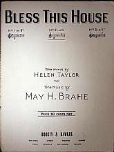 This piece of vintage sheet music was published in 1932 by the publishers, Boosey & Hawkes.  It was arranged for the piano by May Brahe, and the lyrics written by Helen Taylor.  This music will be a great acquisition for anyone that enjoys playing, si