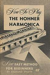 Do you have a vintage Hohner harmonica?  If you do, then this booklet is for you!  This instructional booklet was published in 1959 by M. Hohner, Incorporated.  Sigmund Gottfried Spaeth, the author of this guide was an American musicologist, with many tal