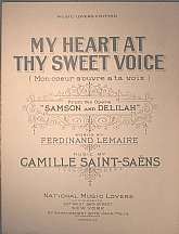 This vintage sheet music was published in 1924, and is part of the Music Lovers Edition collection of National Music Lovers, Incorporated.