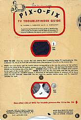 It's a vintage television diagnostic tool!  Do you remember these older cumbersome vacuum-tube televisions of the 50s?  Well, if you do, you have probably seen one of these cards used for diagnosing your TV's ills.  If you or someone you know works with e