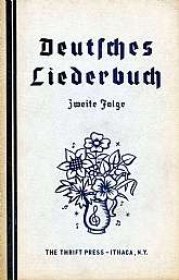 This vintage songbook from 1937 is a collection of German language songs, probably with an audience of community singing groups.  It is still viable today, and will be prized by anyone fluent in German that enjoys singing, either in a group or alone.  T