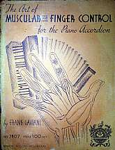 "This 1936 instructional book for the ""Piano Accordion"" is a guide to the art of muscular and finger control for the newer accordion player.  Authored by Frank Gaviani, a virtuoso accordionist, and founder of the Boston Accordion Conservatory, th"