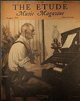 "This is the August 1936 issue of ""The Etude Music Magazine"", which was first published in 1883, continuing to 1957. This magazine has a wide range of appeal, students of music, professional musicians, teachers of music and music history, collect"