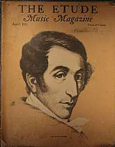 "This is the April 1937 issue of ""The Etude Music Magazine"", which was first published in 1883, continuing to 1957.  This magazine has a wide range of appeal, students of music, professional musicians, teachers of music, and music history, collec"