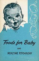 This vintage book was published by the Gerber Products Company in 1957 as a marketing piece promoting the Gerber baby fod line.  This book will appeal to anyone that has or is planning on having a baby, as well as anyone that works with babies or works or