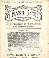 "This antiquarian music book, ""The Beacon Series"" ""The Building Of The Ship"" appears to be a teaching aid for the director or teacher of a chorus.  This booklet will be cherished by any chorus director or teacher working with school age"