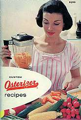 Have you lost or misplaced the owner's manual and recipe book from your vintage Osterizer, which I'm pretty sure is still running like a champ?  Do you have a vintage kitchen with vintage appliances like myself and a lot of other people?  Well, if so, thi