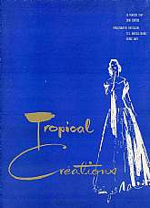 This program is from a fashion show put on March 15th, 1957 by the Navy Exchange at the U.S. Naval Base, Subic Bay, Republic of the Philippine.  This show was a collaboration between our Philippine hosts and the personnel and their wives of the Naval Base