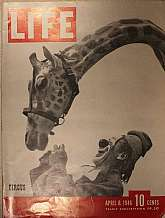 This is a complete issue of Life magazine published on April 8, 1946!  Is this the day you were born?  Or, the week you were born.  Now is a chance for a hopefully refreshing look back in time to that special week or day, the one of your birth.  You can s