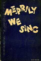 This 1936 Community Song Book was published with use in schools, homes, clubs, and community singing in mind.  There are over one hundred songs listed, some of which you are probably familiar, and others that you've never heard of.  This book will be cher