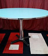a classic 1970's dining table