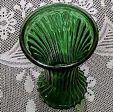 Vintage Hoosier Glass Vase #51, Emerald Green Ribbed PatternThis listing is a Vintage Emerald Green Ribbed Pattern, Pressed Glass Vase from the 1970'sItem is excellent condition with no visible damage such as cracks, chips or any other blemishesMy g