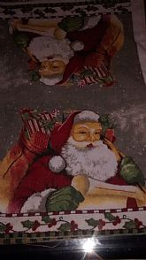 GREAT SANTA PHOTO 2 BY 1 FEET
