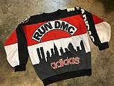 80's Adidas Run DMC Sweatshirt Large - Super Rare!!Vintage Run DMC My Adidas Sweatshirt from 1986. This was the first time Adidas sponsored a recording artist. Only 500 were ever produced. It's been worn and washed, but is still in good condition.Cond