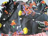 Vintage doll shirt pants Halloween haunted house witch patterngood condition, shirt measures 5
