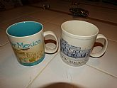 2 styles of New Mexico Starbucks Large Coffee Cups