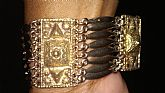 This is a stering silver art deco period bracelet