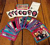 This listing is for the complete series 1 set of Norfin Troll Trading Cards.You will receive all 50 cards which includes the card check list.  The lot also comes with 15 Norfin Troll stickers.The entire set is in excellent condition! Whoever the previou