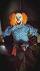 1962 Bozo the Clown doll.  No longer talks