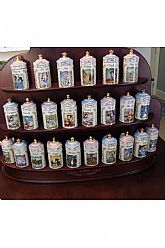 Lenox Walt Disney Spice Jar Collection 23 Jars Authentic From Disney