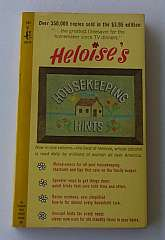 Heloise's Housekeeping Hints By Heloise Illustrated 1966 Soft Cover Book Pocket books, 14th printing.Contents: Kitchen corner -- Make a clean sweep of it -- Coping with the kids -- Away with washday woes -- So, sew! -- Out, dratted spots! -- Pestered by