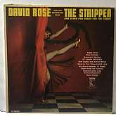 David Rose The Stripper, original MGM vinyl LP, 1962, Very Good condition